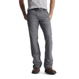 Ariat Flame-Resistant M4 Low Rise Workhorse Boot Cut Pant –  Gray
