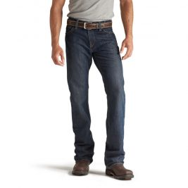 Ariat Flame-Resistant M4 Low Rise Bootcut Jeans – Dark Wash