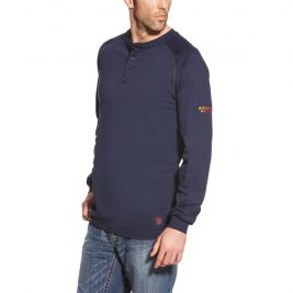 Ariat Flame-Resistant Long Sleeve Henley
