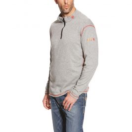 Ariat Flame-Resistant Polartec 1/4 Zip Long Sleeve