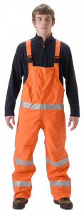 NASCO PetroLite High Visibility Bib Rain Pants