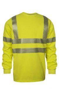 National Safety Apparel VIZABLE FR Hi-Vis Long Sleeve T-Shirt