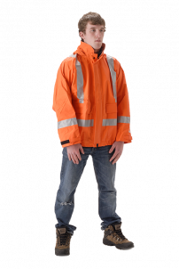 NASCO PetroLite High Visibility Rain Jacket