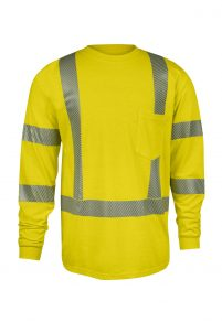 DriFire StrongKnit™ FR Hi-Vis Long Sleeve T-Shirt