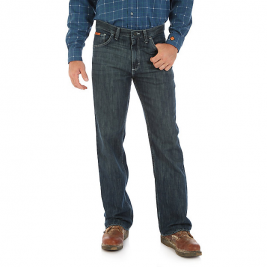 Wrangler® Vintage Boot Cut Flame-Resistant Jeans