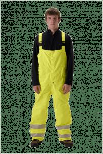 NASCO Omega 5000 High Visibility Bib Rain Pants