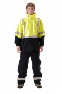 NASCO Omega 5000 High Visibility Rain Jacket
