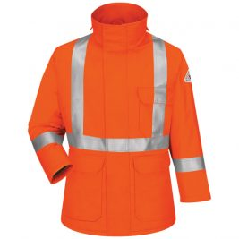 Bulwark Deluxe Flame-Resistant Parka with Reflective Trim