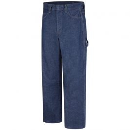 Bulwark Men's Pre-Washed Flame-Resistant Denim Dungaree