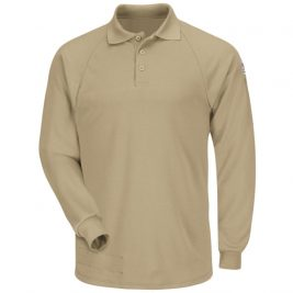 Bulwark Flame Resistant Long Sleeve Classic Polo
