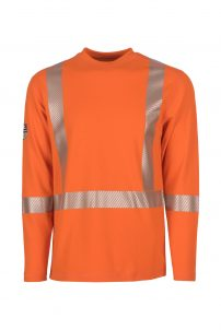 DragonWear ProDry Dual Hazard Hi-Vis Shirt – Orange