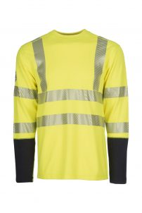DragonWear ProDry Dual Hazard Hi-Vis Shirt – Yellow