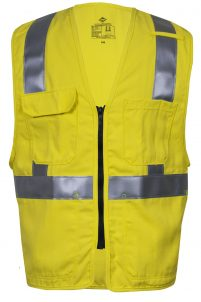 National Safety Apparel VIZABLE FR Hi-Vis Deluxe Road Vest