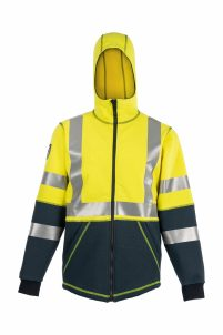 DragonWear Flame-Resistant Elements Nova Jacket – Yellow