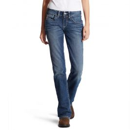 Ariat Flame-Resistant Women's DuraStretch Entwined Bootcut Jeans