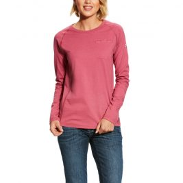 Ariat Women's FR Air Crew Long Sleeve T-Shirt