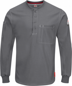 Bulwark iQ Series® Comfort Plus Henley Shirt