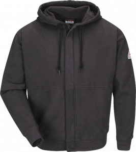 Bulwark Fleece Zip-Up Hooded Sweatshirt