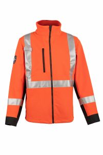 DragonWear Shield™ Soft Shell Hi-Vis Jacket