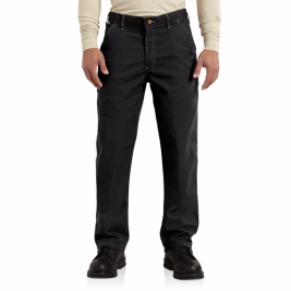 Carhartt Flame-Resistant Washed Duck Work Dungarees