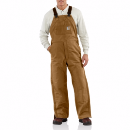 Carhartt Flame-Resistant Quilt-Lined Duck Bib Overall