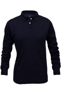 National Safety Apparel Women's Flame-Resistant 100% Cotton Long Sleeve Polo