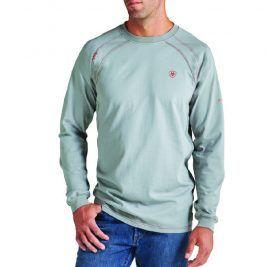 Ariat Flame-Resistant Work Crew Long Sleeve Shirt