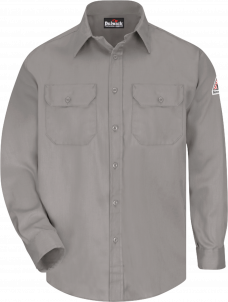 Bulwark Men's Flame-Resistant Uniform Shirt