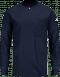 Bulwark Men's Lightweight Flame-Resistant Long Sleeve Tagless Shirt