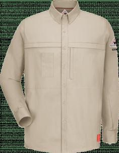 Bulwark iQ Series Comfort Woven Concealed Pocket Men's Shirt