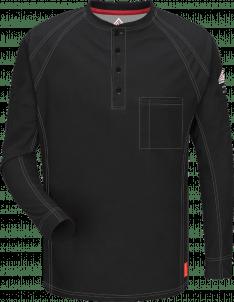Bulwark iQ Series® Comfort Knit Men's Flame-Resistant Henley