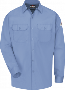 Bulwark Men's Midweight Excel Flame-Resistant Comfortouch® Work Shirt