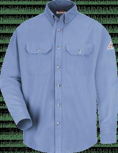 Bulwark Men's Midweight Flame-Resistant Dress Uniform Shirt