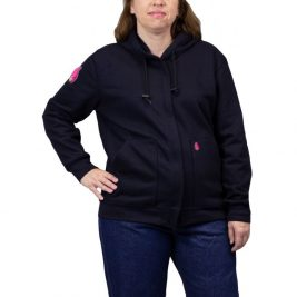 HauteWork® Women's FR Fleece Zip-Up