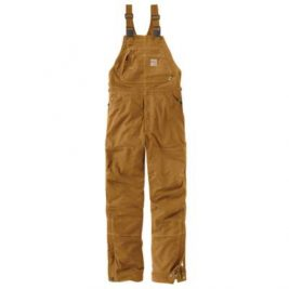 Carhartt Flame-Resistant Quick Duck® Quilt-Lined Bib Overall