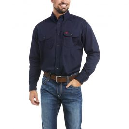 Ariat Flame-Resistant Solid Work Shirt