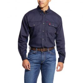 Ariat Flame-Resistant Solid Vent Work Shirt