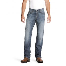 Ariat Flame-Resistant M4 Low-Rise Stretch DuraLight Boundary Bootcut Jeans