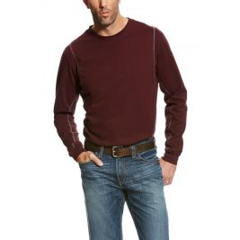Ariat Flame-Resistant AC Crew Long-Sleeve T-Shirt