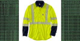 Carhartt Flame-Resistant Hi-Vis Force Hybrid Shirt