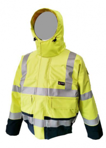 Neilsen® PRO ARC Flame-Resistant Rainwear High Visibility Bomber Jacket
