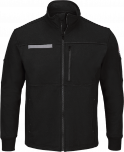 Bulwark Men's Fleece Flame-Resistant Zip-Up Jacket