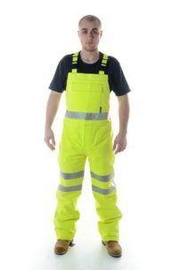 Neilsen Pro ARC Flame-Resistant Rainwear Hi-Visibility Bib Trouser