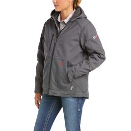 Ariat Women's Flame-Resistant DuraLight Stretch Canvas Jacket