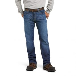 Ariat Flame-Resistant M4 Low-Rise DuraStretch Stitched Incline Bootcut Jeans